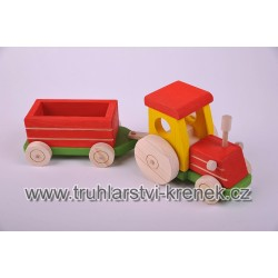 Traktor valník - barva