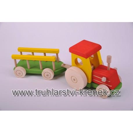 Traktor žebřík - barva