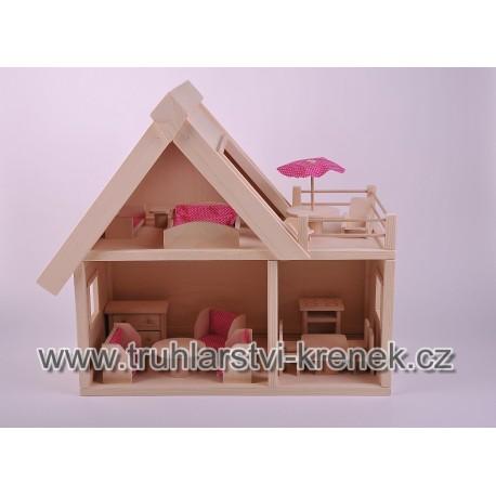 Domek s nábytkem
