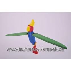 Papoušek velký barevný