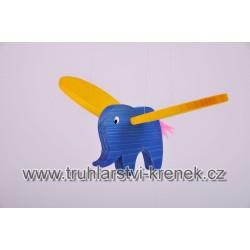 Slon barevný